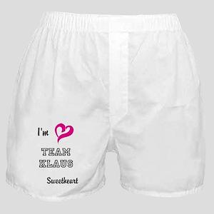 Team Klaus Boxer Shorts