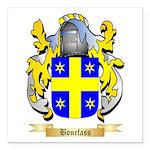 Bonefass Square Car Magnet 3