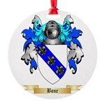 Bone Round Ornament