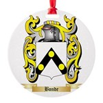 Bonde Round Ornament