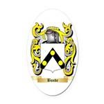Bonde Oval Car Magnet