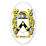 Bonde Sticker (Oval 50 pk)
