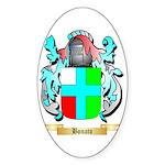 Bonato Sticker (Oval 50 pk)