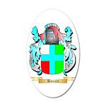 Bonato 20x12 Oval Wall Decal