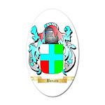 Bonato 35x21 Oval Wall Decal