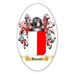 Bonassi Sticker (Oval)