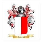 Bonacci Square Car Magnet 3
