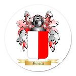 Bonacci Round Car Magnet