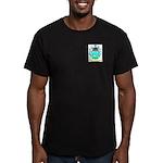 Bonacci 2 Men's Fitted T-Shirt (dark)