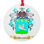 Bonacci 2 Round Ornament