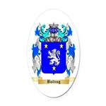 Bolting Oval Car Magnet