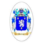 Bolting Sticker (Oval 10 pk)