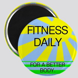 Fitness Daily Magnet