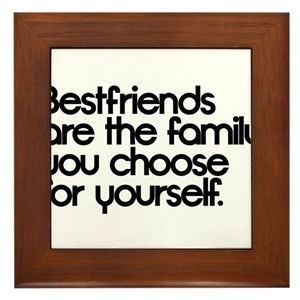 Friends Are Family You Choose Wall Art Cafepress