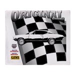 Classic Musclecar 1970 d13014 Throw Blanket