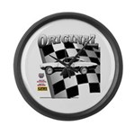 Classic Musclecar 1970 d13014 Large Wall Clock