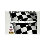 Classic Musclecar 1970 d13014 Rectangle Magnet