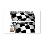 Classic Musclecar 1970 d13014 Rectangle Car Magnet