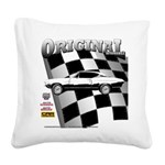 Classic Musclecar 1970 d13014 Square Canvas Pillow