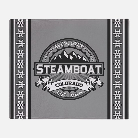 Steamboat Grey Throw Blanket