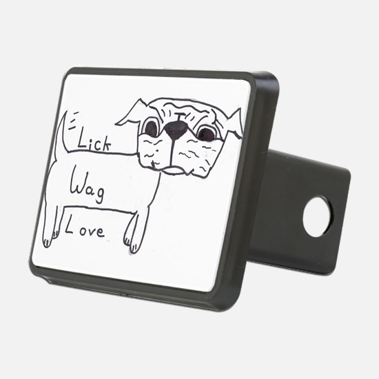 Lick Wag Love Hitch Cover