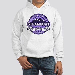 Steamboat Violet Hooded Sweatshirt