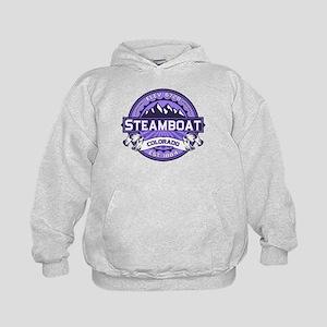 Steamboat Violet Kids Hoodie