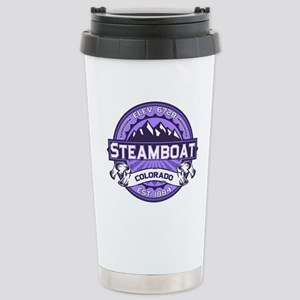 Steamboat Violet Stainless Steel Travel Mug
