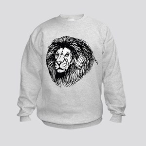 lion - king of the jungle Sweatshirt