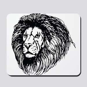 lion - king of the jungle Mousepad