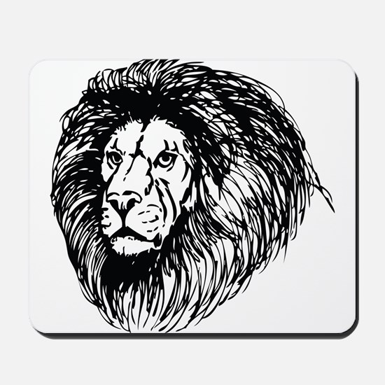 lion - king of the jungle Mousepad
