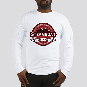 Steamboat Red Long Sleeve T-Shirt