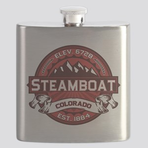 Steamboat Red Flask