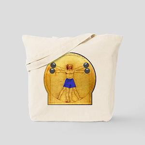Side Shoulder Raises Tote Bag