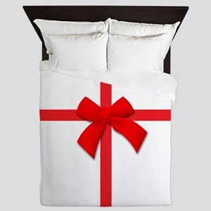 Ribbon Bow Queen Duvet