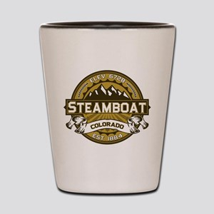 Steamboat Tan Shot Glass