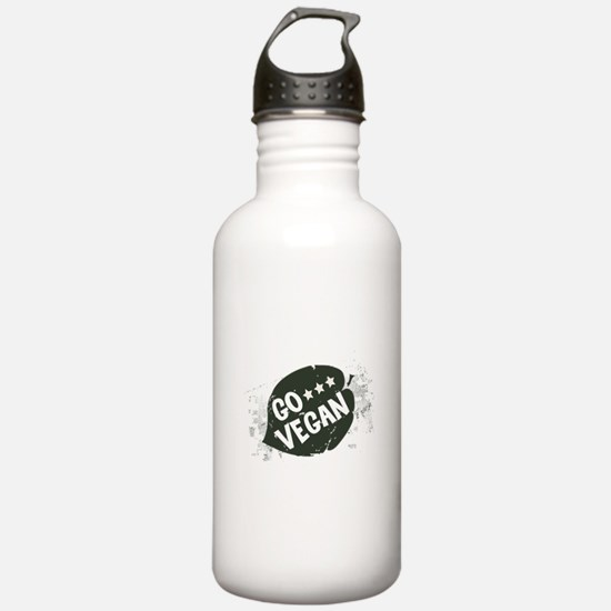 Go Vegan Water Bottle