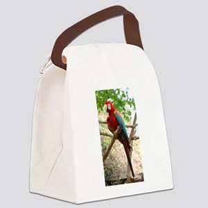 bird9 Canvas Lunch Bag