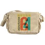 Nineteen 64 Messenger Bag