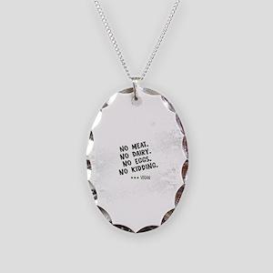 No meat Vegan Necklace