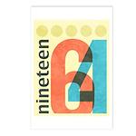 Nineteen 64 Postcards (Package of 8)