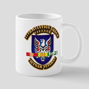 Army - 11th Aviation Gp w Vietnam SVC Ribbons Mug
