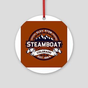Steamboat Vibrant Ornament (Round)