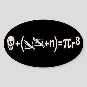 Pirate Formula Sticker (Oval)