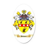 Bolster Oval Car Magnet