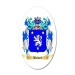 Bolsen 35x21 Oval Wall Decal