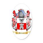 Bolman Oval Car Magnet