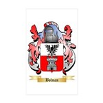 Bolman Sticker (Rectangle 10 pk)