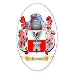 Bolman Sticker (Oval 10 pk)
