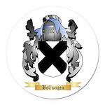 Bollwagen Round Car Magnet